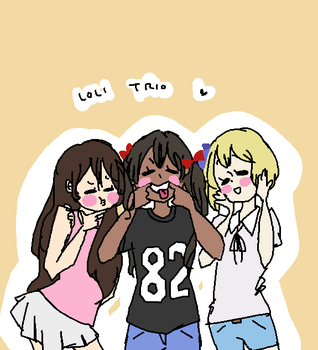 APH: Loli Trio by romano-loves-tomato