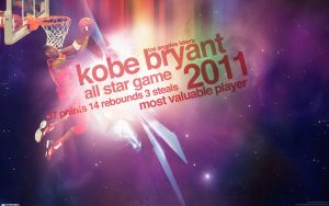 Kobe Bryant 2011 All Star Game by IshaanMishra