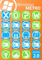 Windows Metro Icons v 2.0 by zerobahamut87