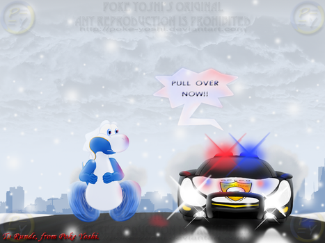 Not Quite a 'Car Chase'... by Mike-Dragon