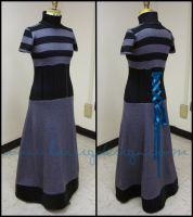 Knitwear Evening Gown by kairi-g