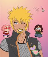 Naruto WITH GOATEE by NightLiight