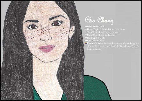 CHO CHANG by avtrspnsmvlvr