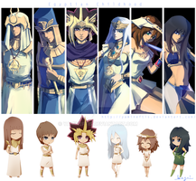 Yugioh: Egyptian Childhood by Yamineftis