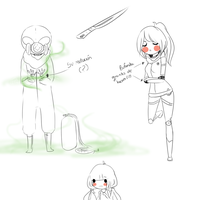 mini(?) sketch dump Angie by MrsUst