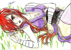 Erza by MidnightlityDreams