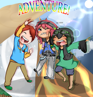 B-day Gift - Adventure! by PixelMonozu
