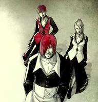 .FGE project: Yagami Team. by Martina-G