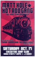 Gig Poster Series - 2 by armageddon