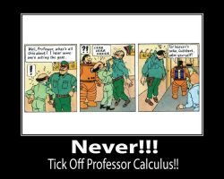 Never Anger Calculus by TandP