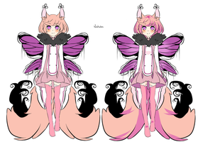 Butterfly adoptable auction (#23)- CLOSED by Natsuba