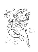 Manga Supergirl by tombancroft