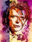 David Bowie Tribute by zepaulo