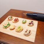 Bruschetta assorted - Miniature by Nassae