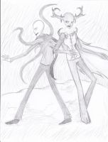Harlssss I told you then I was drawing something by TheUltimateEnigma