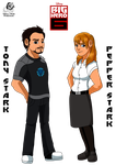 BH6: Tony and Pepper Stark by Aileen-Rose