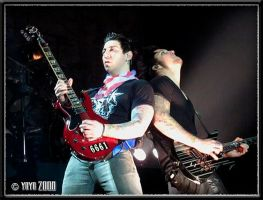 Zacky Vengeance and Syn Gates by SugarAndSpiceDIY