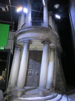 gringotts  diagonally film set  harry potter by Sceptre63