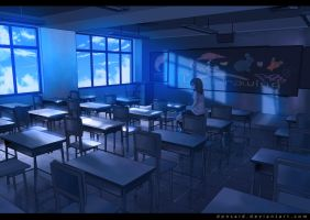 Classroom by donsaid