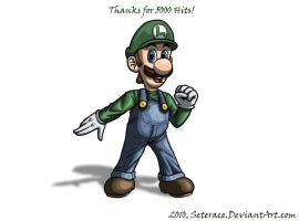 Luigi 5K No Background by Seterace
