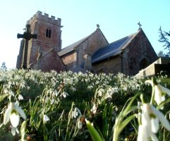 Snowdrop church by Twimper