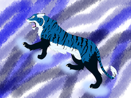 roaring stripes by FlashFireBlue