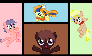 My Cutie Mark Crusaiders by Nikki-Eats-Faces