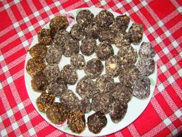Truffes chocolat noisette by Charlie-Audern