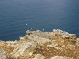Fiolent cliffs by Aby-of-N-city