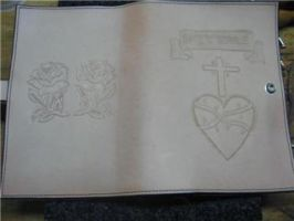 Bible Cover-WIP2 by FattDaddyLeather