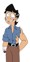 Transparent Ash by HystericalDoodle