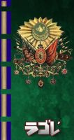 Ottoman Empire Banner by Red-Rook