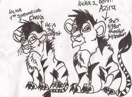 Chaka And Azira Neka Cubs by wasfight17