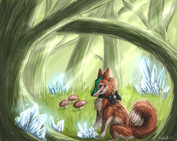 The Fairy Forest by firedanceryote