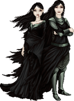 Thuringwethil and Sauron by tata-s-z