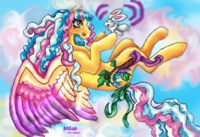 Fun at the clouds by Sapphire-Light
