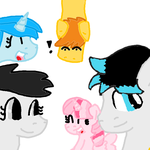 Ponies I know (in PHC) by PinkiePartytheartist