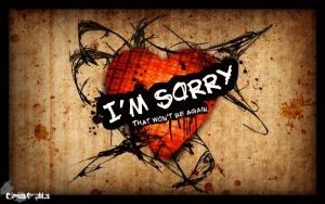 I'm Sorry by cometa93