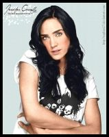 Colorize Jennifer Connelly by Sophies27