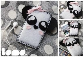 TOMO PANDA - iPhone iPod Case by TomodachiIsland