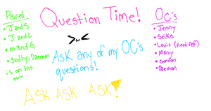 Question Time!! (q&a) by GalaxyCookie
