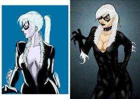 Black Cat Before-After by Sno2