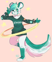 Commission: Purrsona by moonsona
