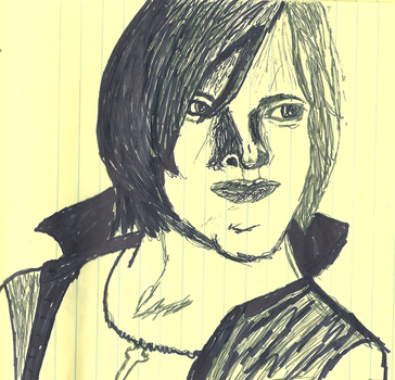 Ada Wong (RE6) Sketch by ParadigmFallen