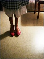 DOROTHY IN RED SHOES by SourDuck