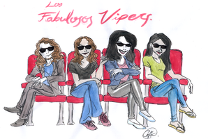 The Fabulous Vipers by DemonCartoonist