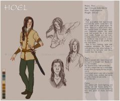 Reference sheet: Hoel by Luciana-Lu