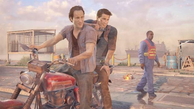 Uncharted four - Nate and Sam Drake by JillSparda1985