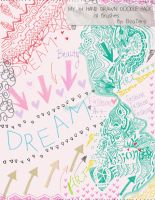 My First Hand Drawn Doodle Brush Pack! by ElizaTeny