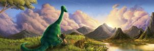 The Good Dinosaur  - Contest Submission 1 by Rorus007